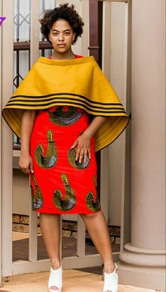 5 Top African Fashions for Men – Designer Fashion Tips Xhosa Attire, African Attire, African Wear, African Women, African Style, African Beauty, Ankara Dress Styles, African Print Dresses, African Fashion Dresses