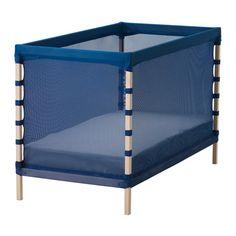 IKEA - FLITIG, Babybett, , Babys schlafen sicher, da das weiche Netzgewebe so angebracht ist, dass es vor harten Oberflächen schützt. Das Kleine bekommt einen schützenden Schlafplatz. Wenn weiches Licht durch das Gewebe dringt, wirkt es wie ein Sternenhimmel.Der Bettboden ermöglicht gute Luftzirkulation und bietet daher optimale Belüftung, was für ein angenehmes Schlafklima sorgt.