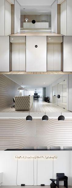 Slattery Australia Office Design by Elenberg Fraser Architecture Design Hotel, Restaurant Design, Lobby Design, Commercial Interior Design, Office Interior Design, Commercial Interiors, Interior Ideas, Best Office, Cool Office