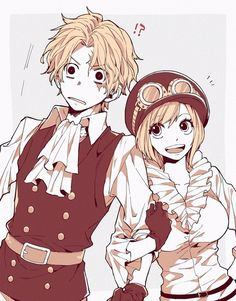 Sabo and koala One Piece Manga, Sabo One Piece, One Piece Comic, One Piece Ship, One Piece Fanart, Koala One Piece, Zoro And Robin, Ace Sabo Luffy, One Piece Pictures