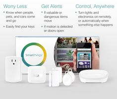 SmartThings - must automate everything.