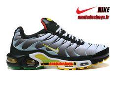 14b08990908a Boutique Officiel Nike Air Max Tn/Tuned Requin 2013 Homme Gris/Noir/Bleu/ Jaune/Vert/Rouge 604133-204