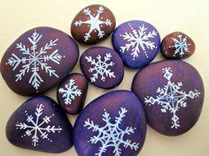 snowflake stones