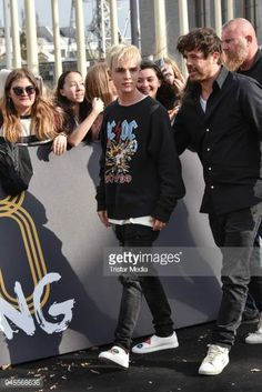 Mike Singer arrives at the Echo Award 2018 at Messe Berlin on April 12 2018 in Berlin Germany