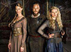Vikings - Auslag, Ragnar, Lagertha  - 2014