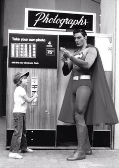 Superman with Christopher Reeve