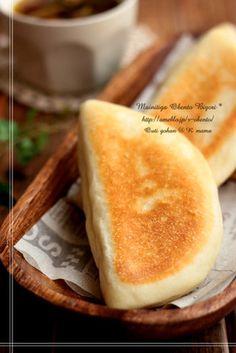 誰でも簡単♪フライパン焼き手捏ねパン!