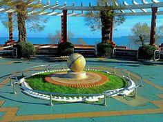 Bola del Mundo de los Jardines de Piquío (Santander)