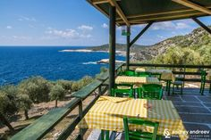 Greek tavern near Giola, Thassos, Greece - Andrey Andreev Travel and Photography