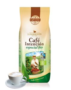 Cafe Intencion BIO Especial Cafe Crema 2 x 500 g Bohne | online kaufen bei Gourvita