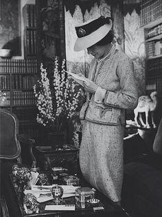Gabrielle 'Coco' Chanel [1961 Cecil Beaton].