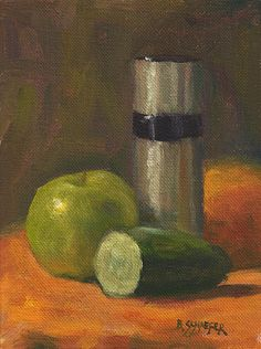 Fruit & Metallic Bottle   Brandon Schaefer