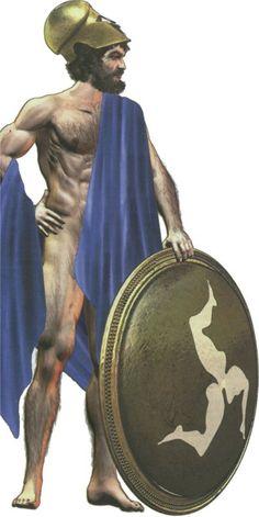 Athenian pezonautis (marine hoplite)