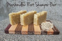 shampoo bar (and some other homemade-s too)