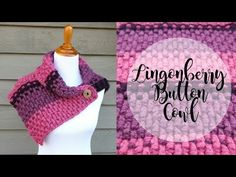 Learn how to crochet the Lingonberry Button Cowl with this easy tutorial! Subscribe to get latest and greatest from Fiber Flux! https://www.youtube.com/ch...