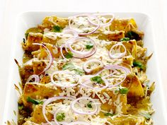 Chicken-and-Cheese Enchiladas recipe from Food Network Kitchen via Food Network