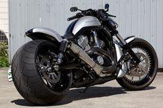Customized Harley V-Rod from BADLAND