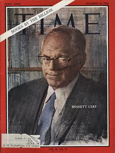 Bennett Cerf, Time Magazine, Magazine Covers, Charles Whitman, Project Gemini, What's My Line, Vintage Magazines, Rage, Reading Lists