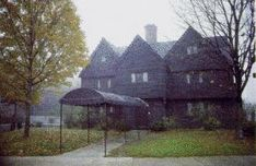 """Salem Witch Trials - Salem, Massachusetts...............Jonathan Corwin's home........where 3 women accused of witch craft in 1692, still stands and is known locally as the """"Witch House"""".........Guided tours are available!"""