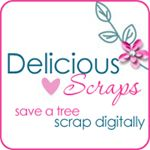 Delicious Scraps...cu tags and cu frames