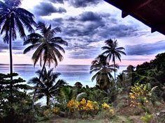 Vivir viajando como mochileros. Pavones. Costa Rica.