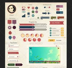 vintage design interface - Google zoeken