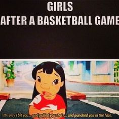 Sport basketball so true 19 ideas funny gif funny girls funny hilarious funny humor funny memes Funny Basketball Memes, Sport Basketball, Funny Sports Memes, Funny Disney Memes, Disney Jokes, Love And Basketball, Sports Humor, Basketball Problems, Lacrosse Sport