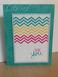 Handmade by Whitney, The Card Studio, Made with: Stampin' Up! Work of Art