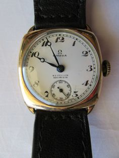 OMEGA vintage watch  Swiss made  40's  15 Jewels by HoleInTheWater