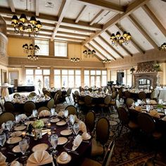 Rush Creek Golf Club, Maple Grove, MN. Beautiful space for meetings, banquets, receptions and more.