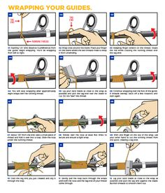 How To Wrap Guides On A Fishing Rod