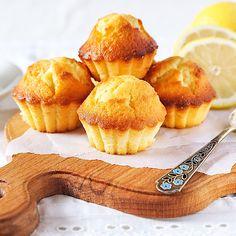 Schnelle Low Carb Zitronen-Muffins