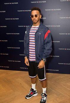 a024f0088 ICYMI  Lewis Hamilton Rocks Tommy Hilfiger Outfit With IWC Watch Tommy  Hilfiger T Shirt