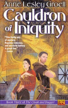 Anne Lesley Groel.  Cauldron Of Iniquity. Cover Art. Allan Pollack