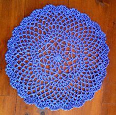Big Crochet Doily Rug by GoatFairy on Etsy, $32.00