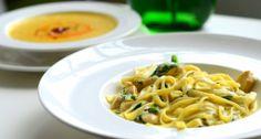 Makaron z kurczakiem i szpinakiem/ Pasta with chicken and spinach / Concordia Taste / Lunch