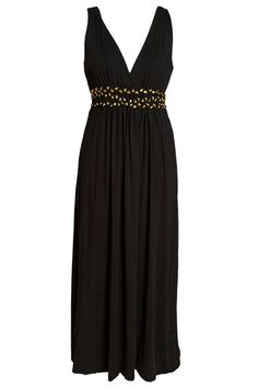 Halter maxi dress Long casual dress for woman Plus size by Pasoka, $66.00