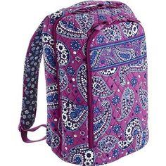 fd7a7f4a60 Laptop Backpack in Boysenberry. Vera Bradley Backpack