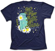 Cherished Girl Lightning Bug Christian T-Shirt