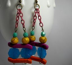 Mixed Media Baubles & Jewelry by Dragonflytonic on Etsy, $17.99