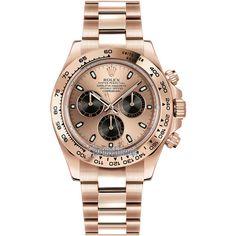 Rolex Cosmograph Daytona Everose Gold 116505 Pink and Black Index... ($30,709)