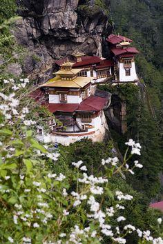 Tiger's Nest Monastery, Paro, Bhutan.