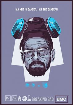 Breaking Bad Illustrations by Mike Wrobel