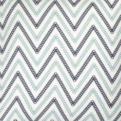 COCOCOZY: Circle Chevron Fabric