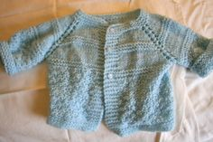 Light Blue Sweater 1218 months by BaubleandBain on Etsy, $35.00