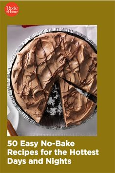 When the temperatures climb, skip the oven. These easy no-bake recipes let you have breakfast, lunch, dinner and dessert on the table in a snap—no oven required. Easy Baking Recipes, Pie Recipes, Desert Recipes, No Bake Desserts, Sweet Tooth, Oven, Deserts, Good Food, Goodies