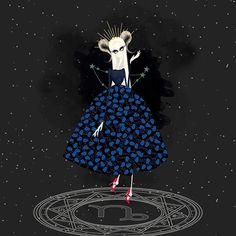 Capricornio (Christian Dior and Miu Miu shoes) - ch_uu - Zodiac girls