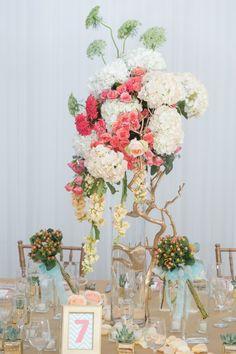 Modern Peach and Mint Wedding Inspiration Precious Occasions_ AJ Shorter Photography
