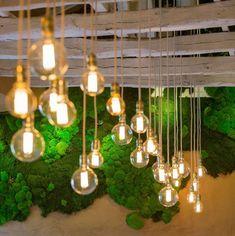 This Contemporary Bucharest Restaurant Boasts a Garden Wall #architecture trendhunter.com