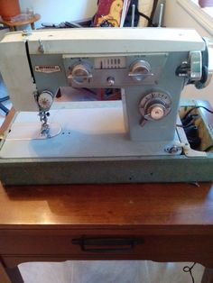 Vintage Japanese 'Badged' Zig Zag and Straight Sew Sewing Machines